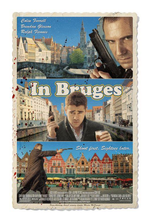 inbruges A legjobb filmes plakátok