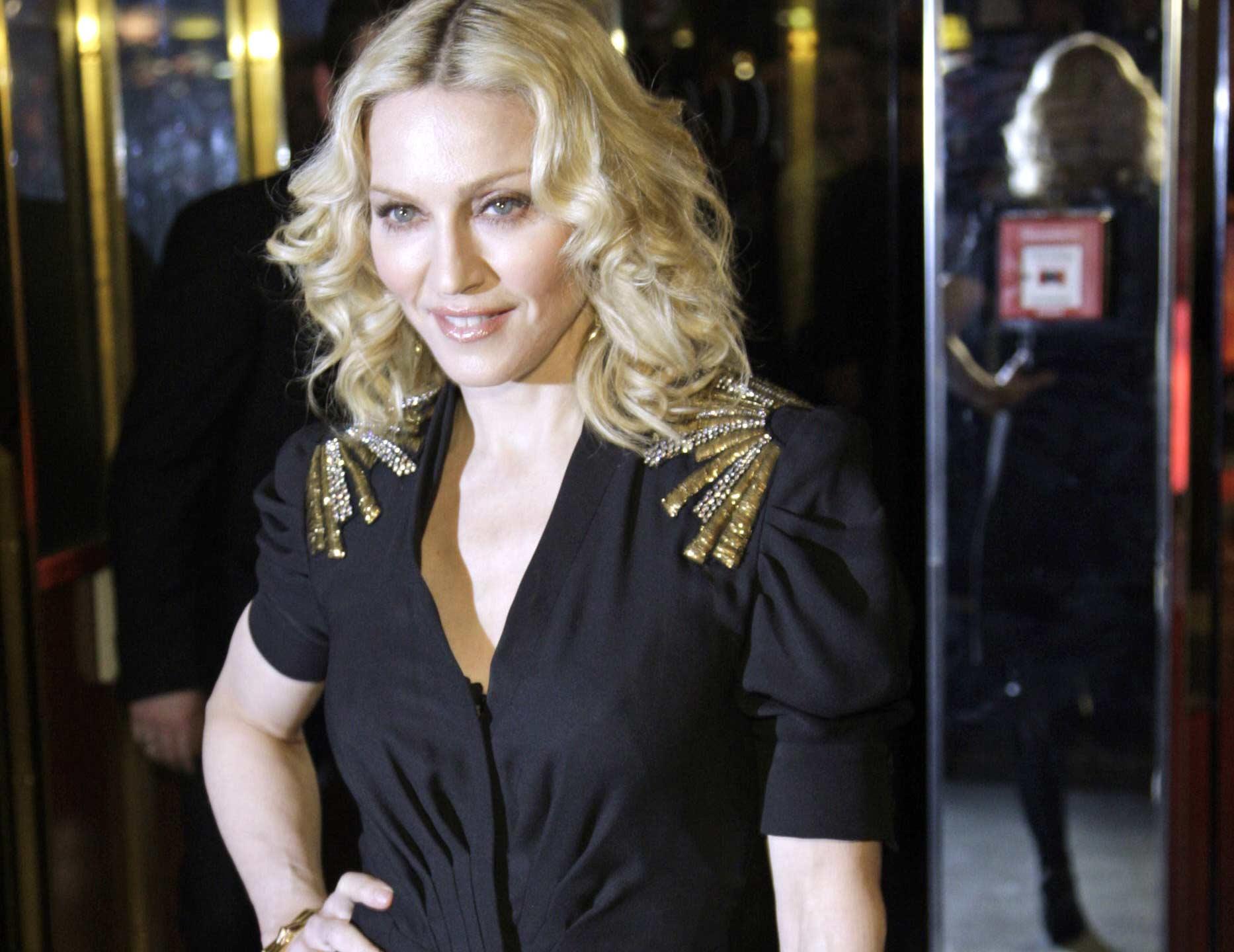 madonna 111afp mediafax f Madonna első alkalommal Romániában