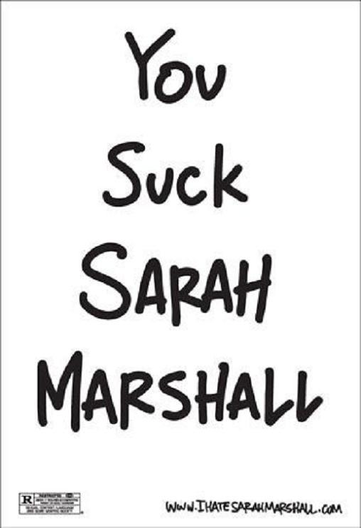 sarahmarshall1 A legjobb filmes plakátok