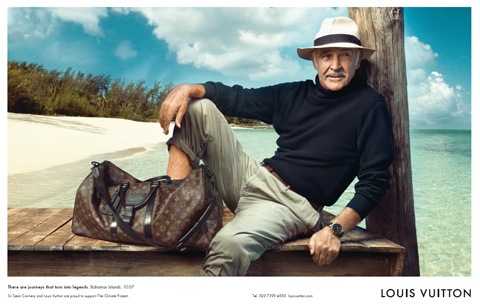 sean connery luis Madonna + Louis Vuitton