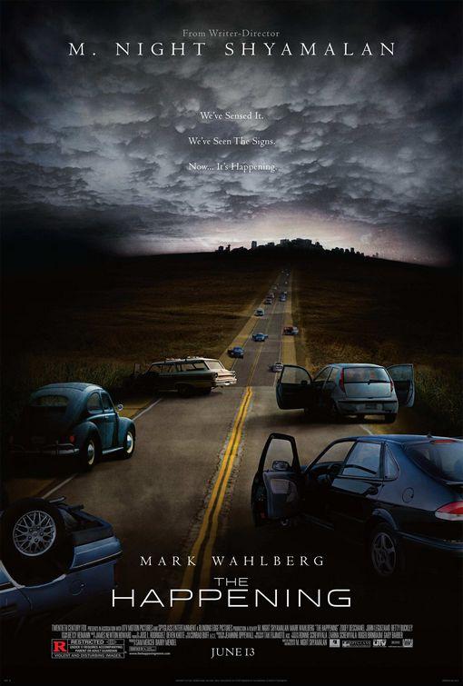 the happening A legjobb filmes plakátok