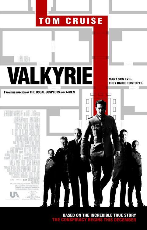 valkyrie A legjobb filmes plakátok