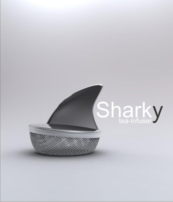 capa11 11assic: Sharky Tea Infuser