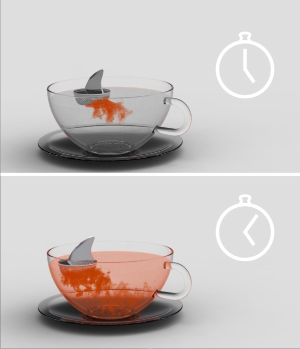 capa22 11assic: Sharky Tea Infuser