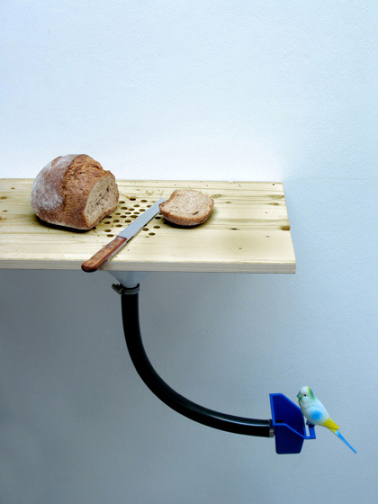 madareteto Bird Feeder / Bread Slicer
