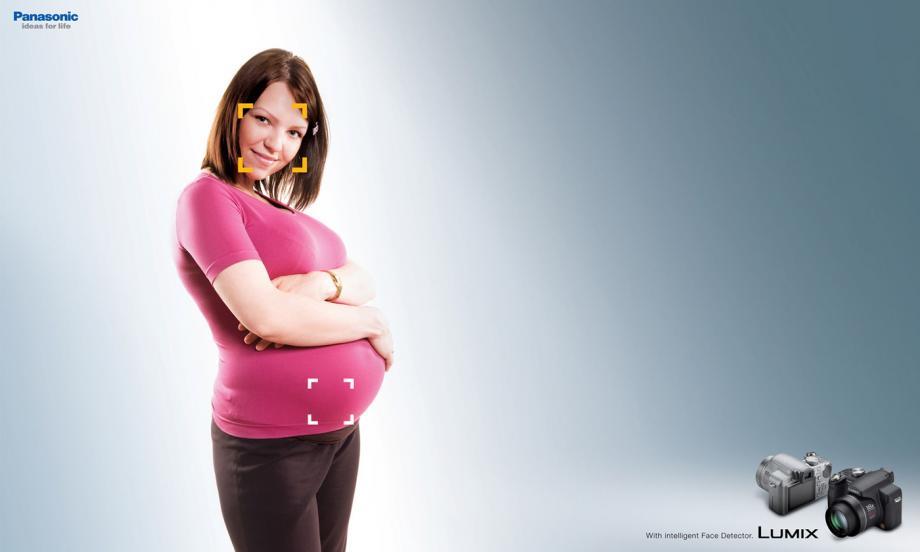 panasonicpregnant Az új Panasonic arcfelismerő