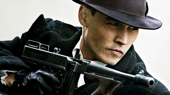 public enemies Johnny Depp + Marion Cotillard + Christian Bale
