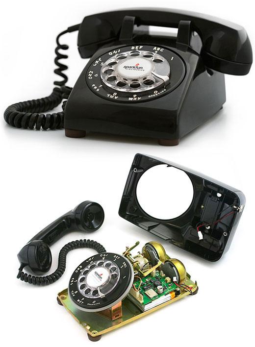 retrophone Bluetooth os, tárcsás retro telefon