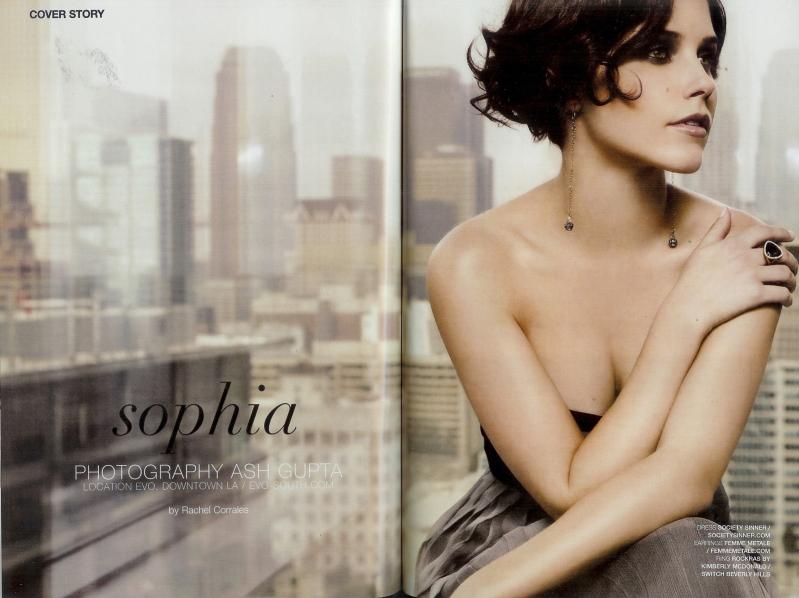 sophia bush2 Sophia Bush   LA Direct