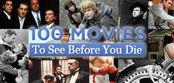 yahooszazas 100 film, amit halálod előtt látnod kell