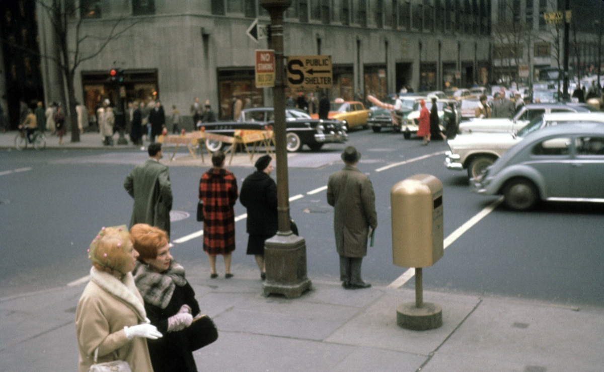 5th 1 old New York City : 1961 vs. Today
