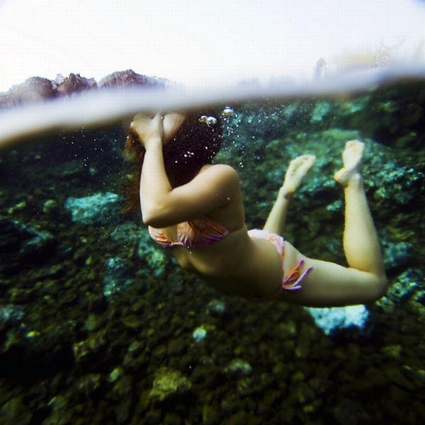 Underwater wow!