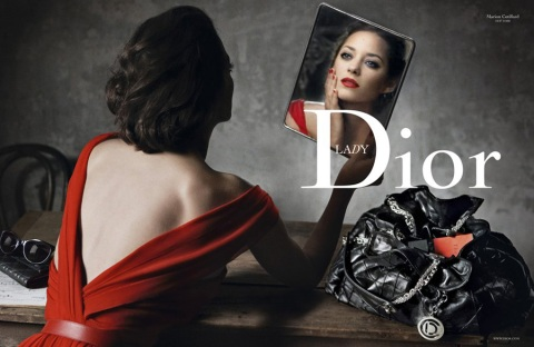 Marion Cotillard for Lady Dior by Annie Leibovitz