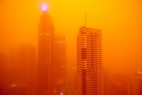 red dust storm sydney 23rd sept 1