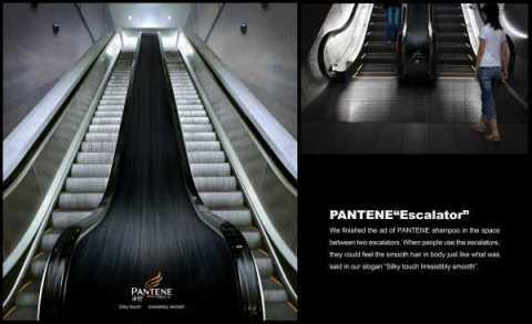 pantene-escalator-advertising