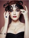 Christina Hendricks in LA Times magazine 4